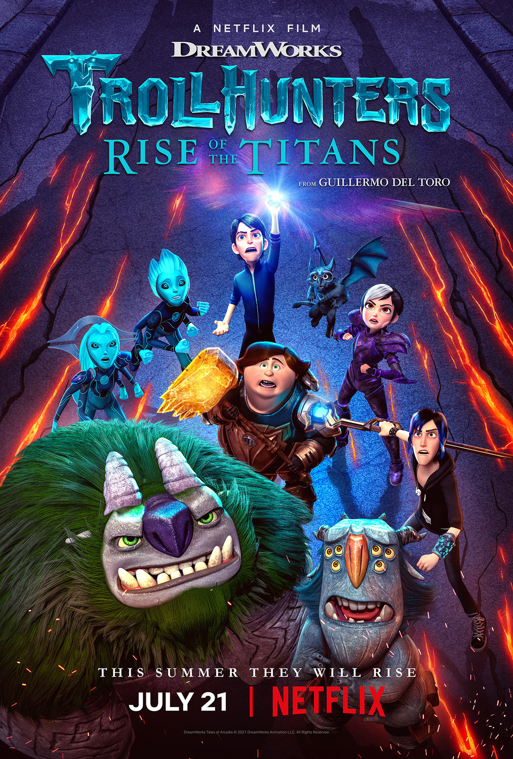 Trollhunters: Rise of the Titans Subtitle Indonesia