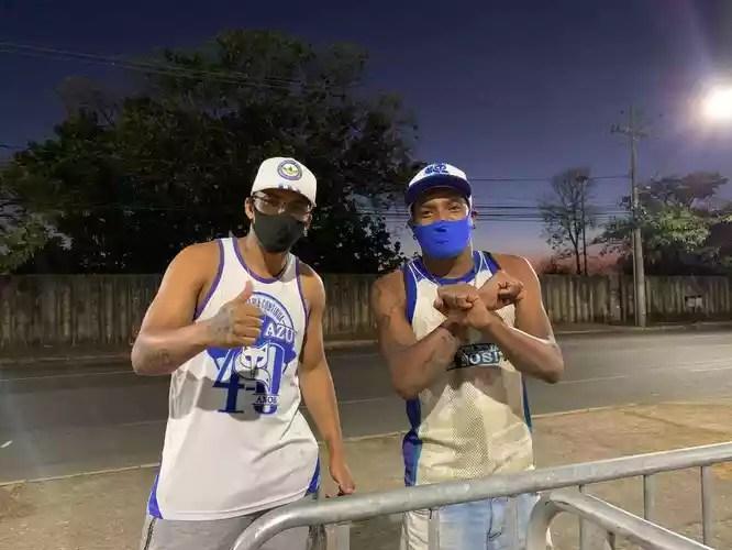 Thiago Soares (left) and Vanderson Souza (right) are
