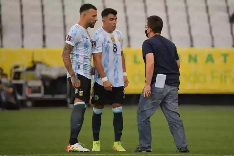 Brazil vs Argentina: game