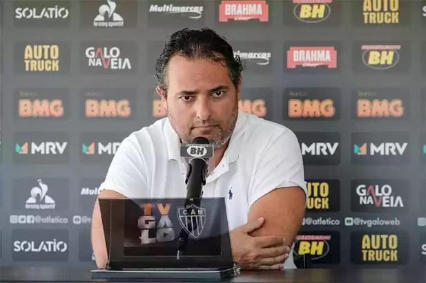Alexandre Mattos vislumbra título brasileiro pelo Atlético e revela desejo de manter clube entre os melhores do país por muitos anos - Superesportes