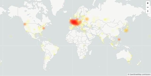 gmail 2Yc6 - Google servisleri dünya çapında çöktü!