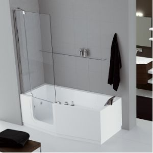 image de novellini iris combine bain douche version gauche 170 x 70