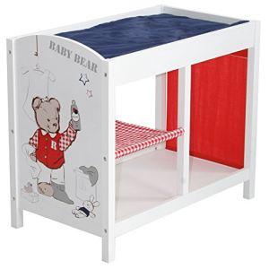 roba table a langer pour poupon teddy