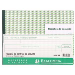 Registre De Securite Comparer 109 Offres