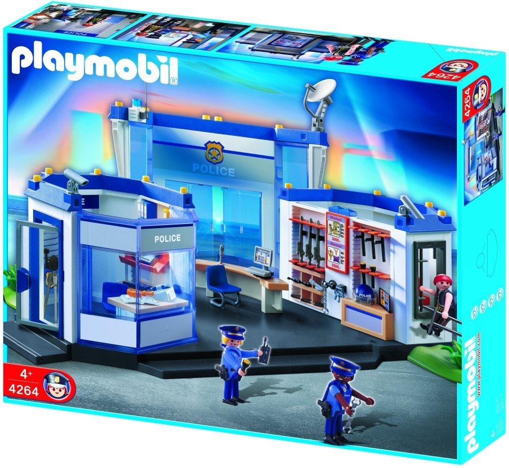 Playmobil 4264 Commissariat De Police Comparer Avec