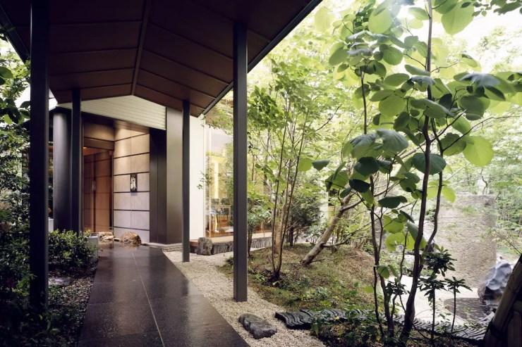 도쿄 호텔 추천 호텔 니와 도쿄 입구와 정원