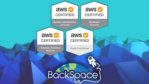 Amazon Web Services (AWS) Certified 2019 - 4 Certifications!