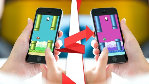 Publish Your Flappy Bird* iPhone Game, EZ & No Coding, iOS9+