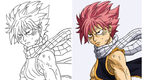 Introdução a pintura digital estilo anime