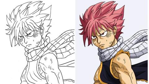 Introducción a la pintura de estilo anime digital
