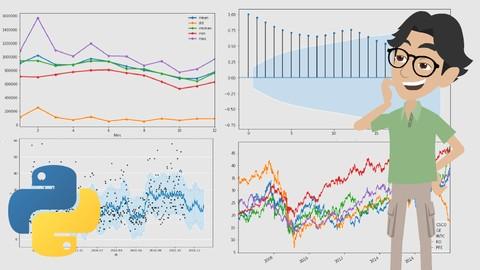 Séries Temporais com Python: O Curso Completo