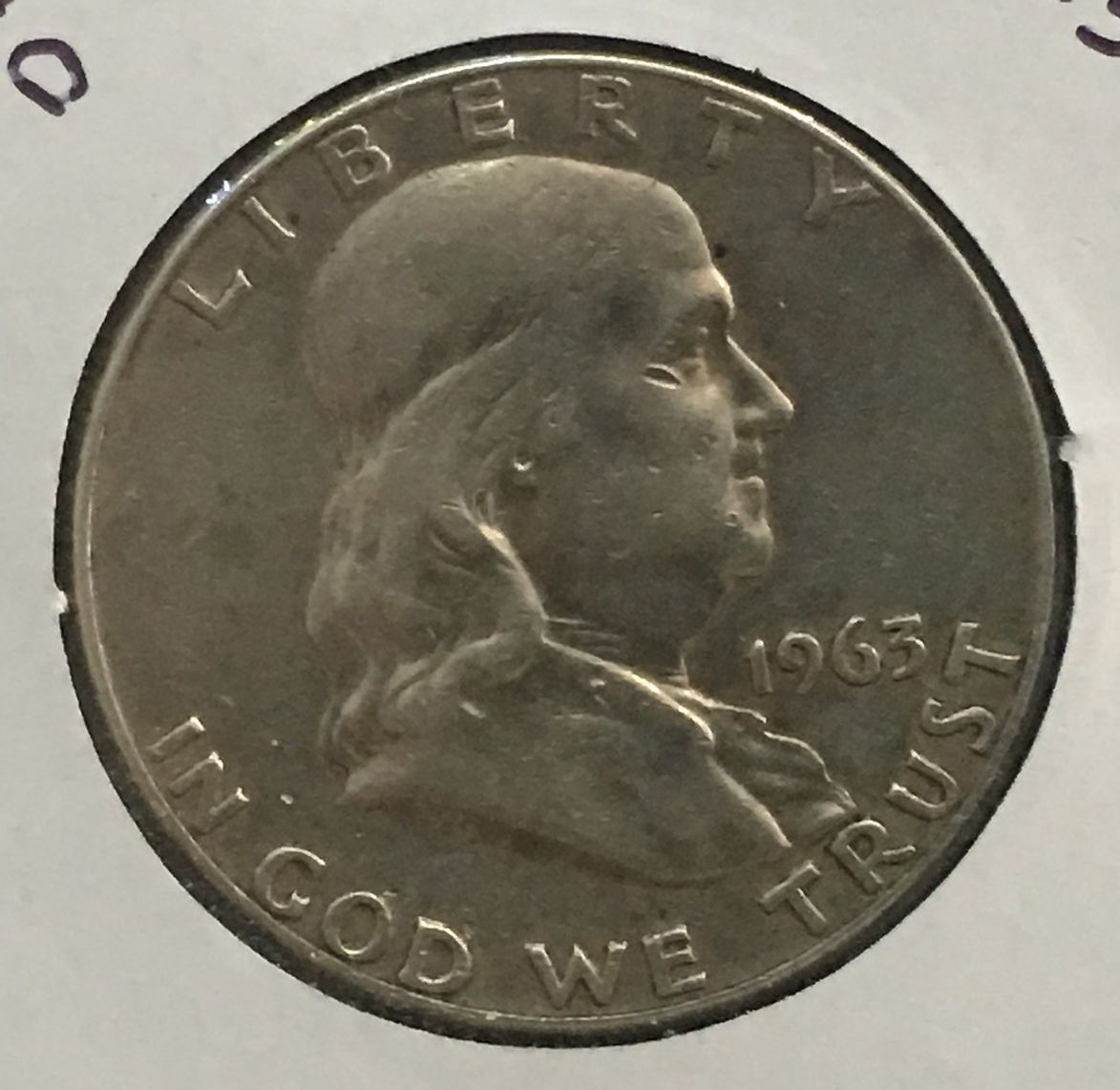 D Franklin Half Dollar