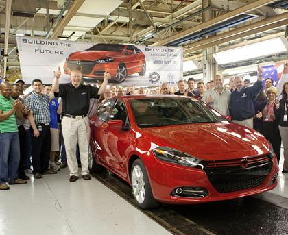 2013 dodge dart is born!!