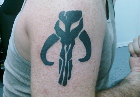 I'm constantly asked why I would want a cow skull tattoo. I just smile.