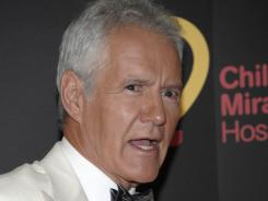 Trebek arrives at the 38th Annual Daytime Emmy Awards in Las Vegas on June 19.
