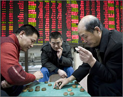 China stock exchange pic