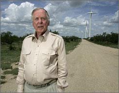 T Boone Pickens, fare affari col vento a 80 anni suonati