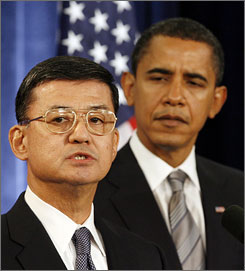 Gen. Shinseki and Pres. Obama