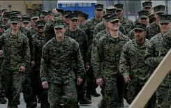 """Camp Pendleton, Calif., Marines won't be spending any of their """"R&R"""" time in popular Tijuana and nearby beaches after an order banning them from there. A public information officer says it's to look out for the Marines' safety and well-being."""