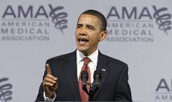 Obama Addresses AMA