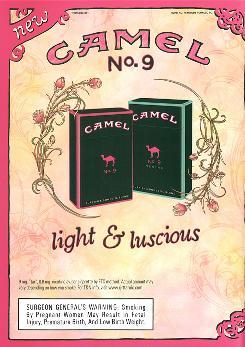 Camel No 9 cigarette image