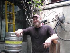 Cleveland native Carl Setzer, 29, delights in using unusual ingredients at his popular Beijing microbrewery.