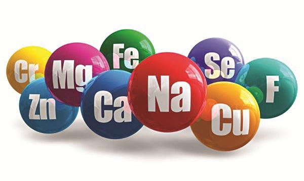 Vai trò của chất khoáng vi lượngu