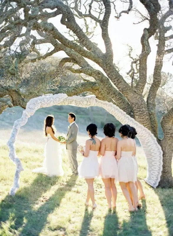 Alternative Wedding Altars
