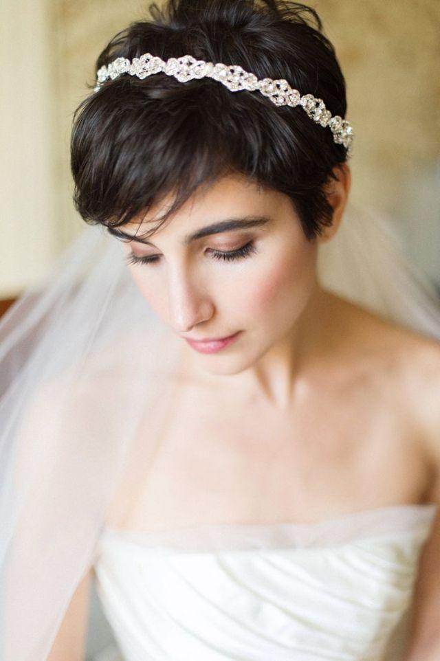 52 chic and pretty wedding hairstyles with bangs - weddingomania