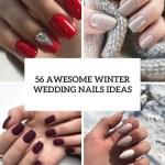 56 Awesome Winter Wedding Nails Ideas Weddingomania