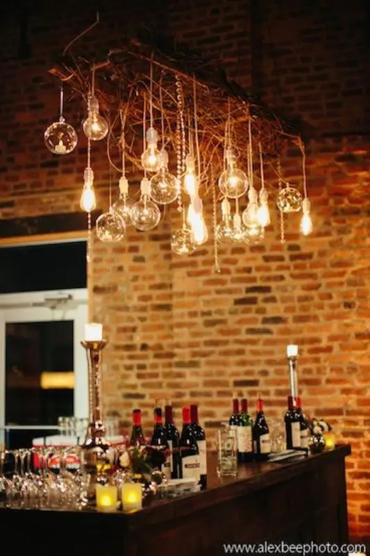 21 Beautiful Edison Bulbs Wedding Lightning Ideas Weddingomania
