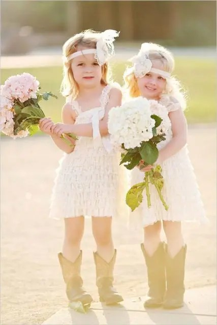 22 Flower Girl Outfits For Country Weddings