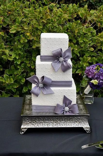 30 Gorgeous Square Wedding Cake Ideas Crazyforus