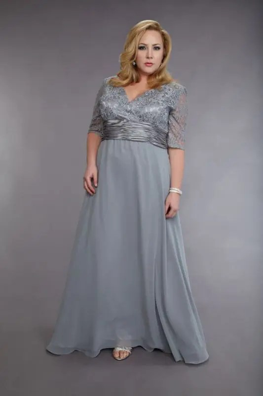 43 Stunning Plus Size Mother Of The Bride Dresses - crazyforus