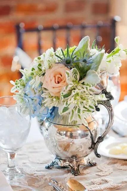 22 Teapot Table Centerpiece Ideas For Your Wedding Weddingomania