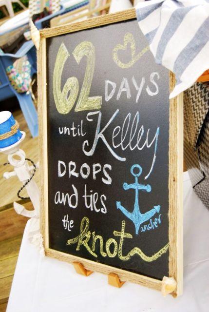 24 Chic Nautical Themed Bridal Shower Ideas Weddingomania