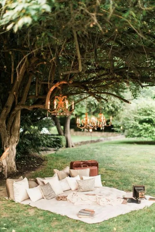 9eb35805651c 17 Cozy And Fun Camping Bridal Shower Ideas - crazyforus
