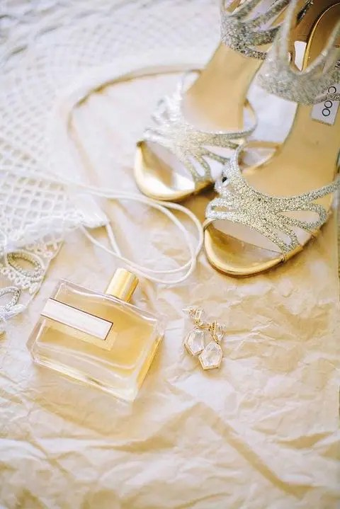 glam bridal accessories photo