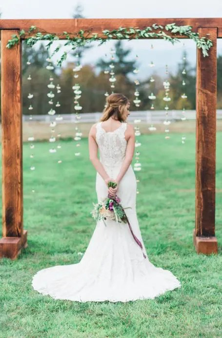 36 Wood Wedding Arches Arbors And Altars Weddingomania