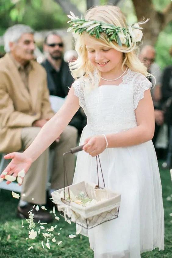 ivory lace cap sleeve dress