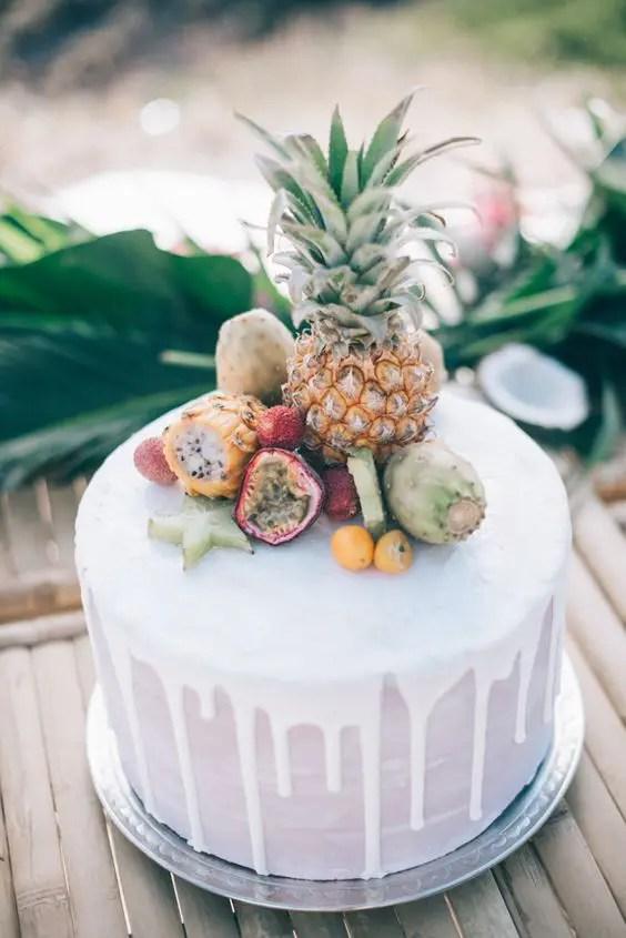 Pineapple Cake Icing