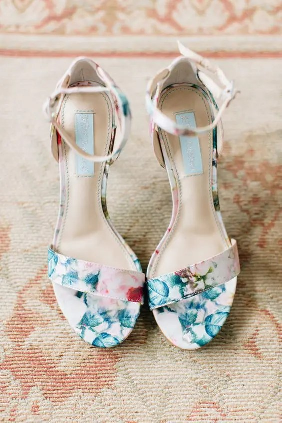Lace Wedding Sandals
