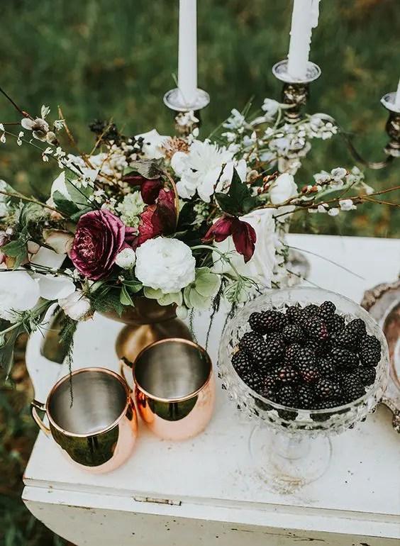 30 Moody And Dark Summer Wedding Ideas Weddingomania