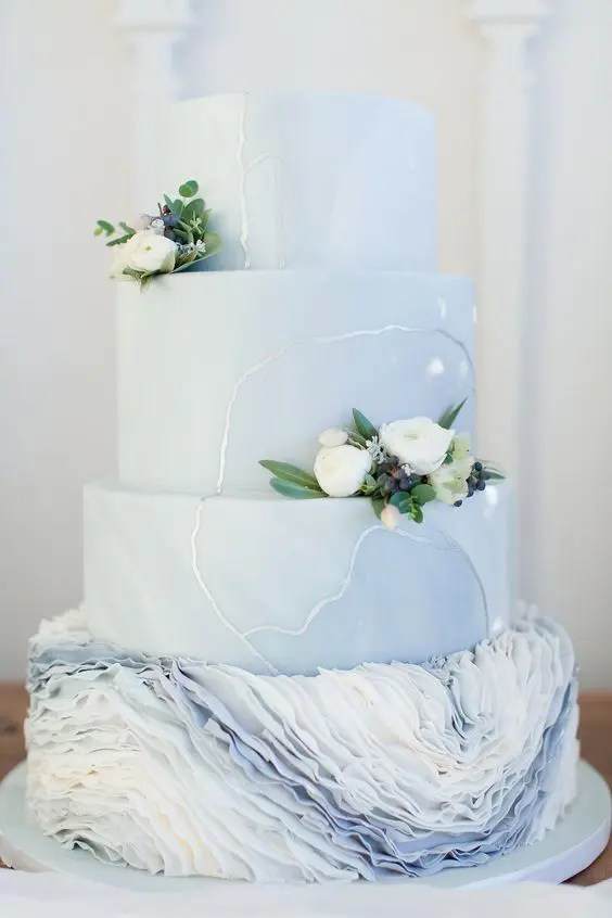 25 Pastel Wedding Cakes For Spring And Summer Weddingomania