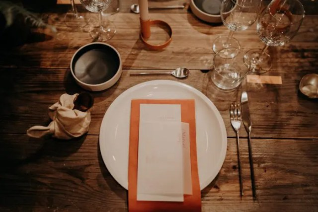 Romantic Boho Wedding With A Burgundy Color Palette