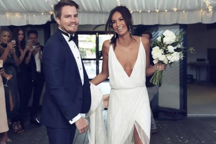 23 Slip Wedding Dresses For An Effortless Look