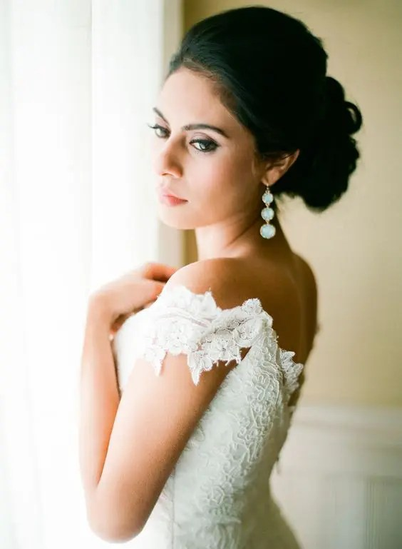 25 Ultimate Statement Earrings Ideas For Brides | Glam Earrings