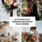 25 Stylish Fall Wedding Bouquets That Inspire Weddingomania