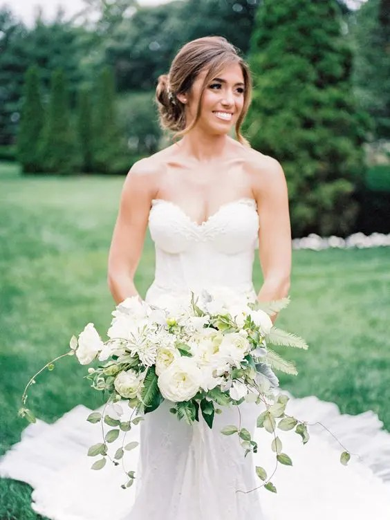25 Sexy Strapless Wedding Dresses To Try Crazyforus