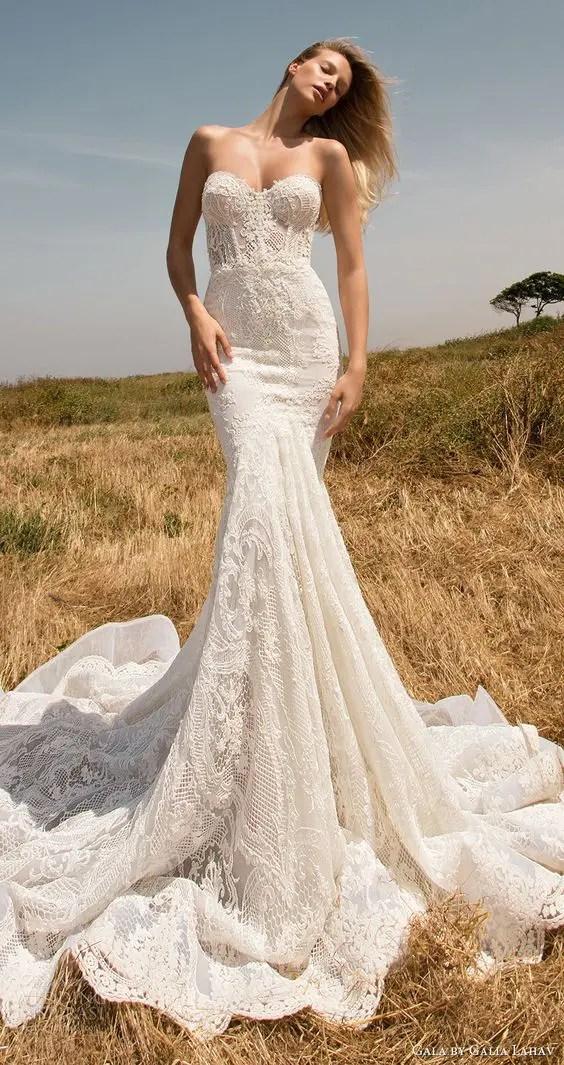 25 Jaw-Dropping Bustier Wedding Dresses - crazyforus